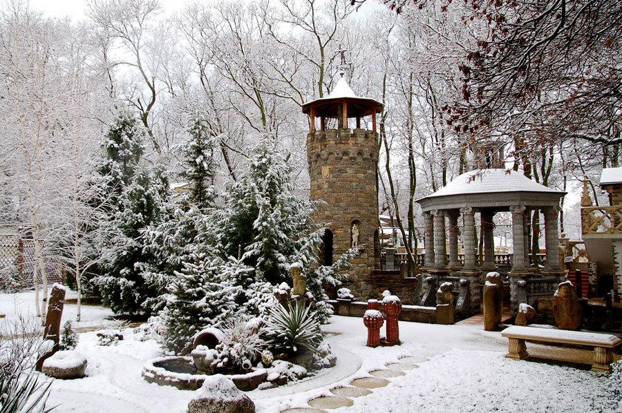 Зимний пейзаж Старого парка