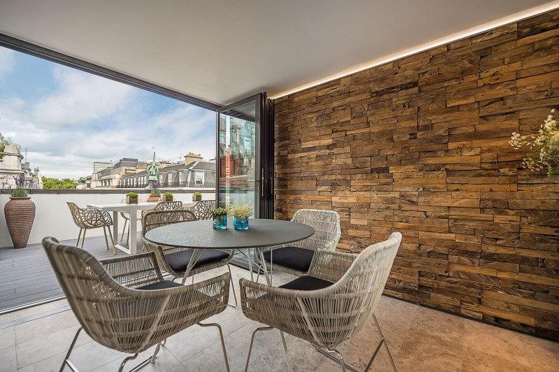 Элегантный дизайн интерьера квартиры в центре Лондона (2)