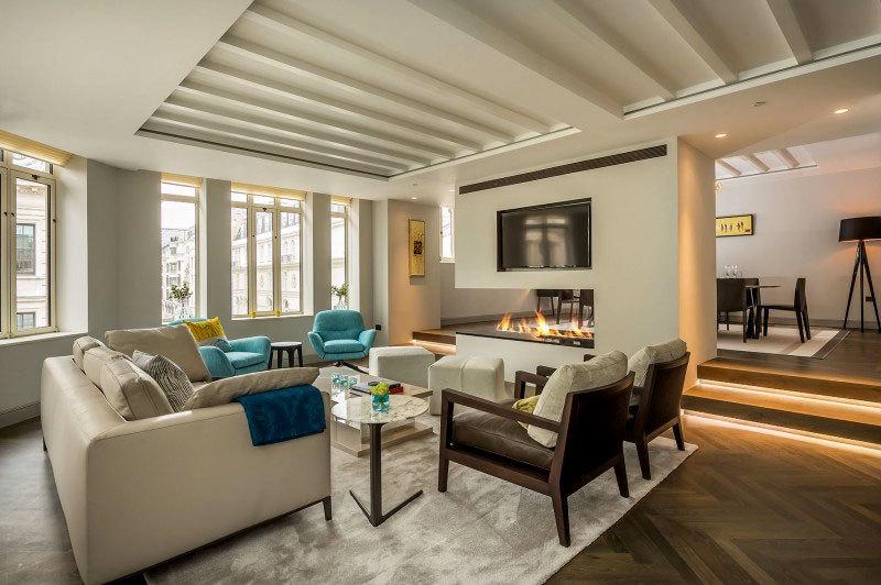 Современный дизайн интерьера квартиры в центре Лондона (3)
