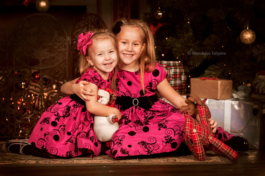 Студия фото дети. Новогодние образы для фотосессии