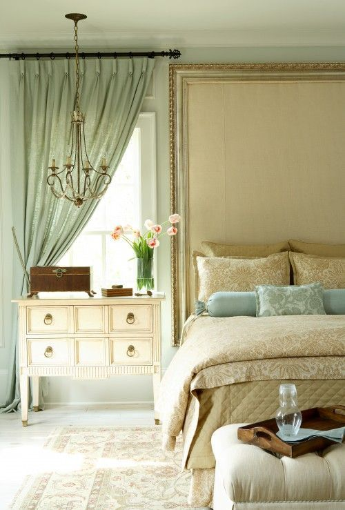 комод для спальни в романтическом стиле