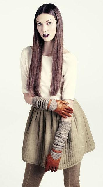 модные перчатки 2014