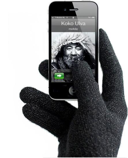 перчатки для работы с сенсорными экранами