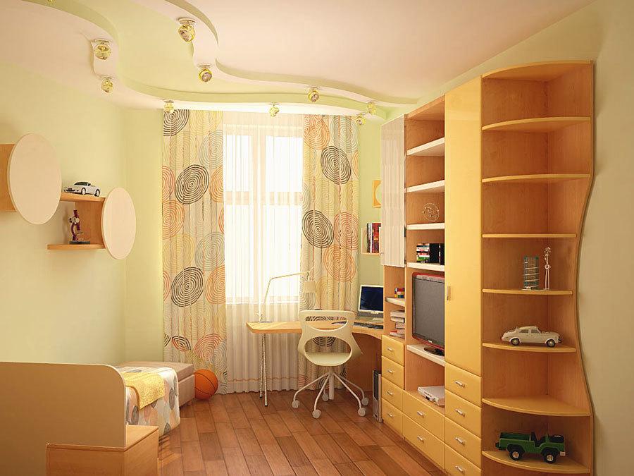 правильное освещение для детской комнаты
