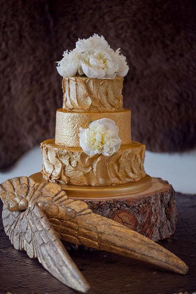 свадебный торт в виде дерева от The Cake Company