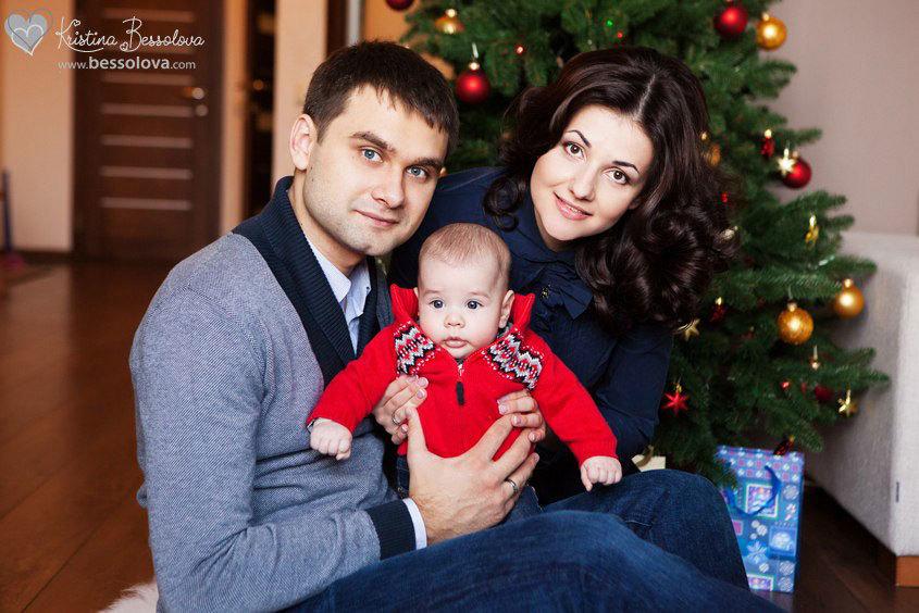 семейный новогодний портрет (1)