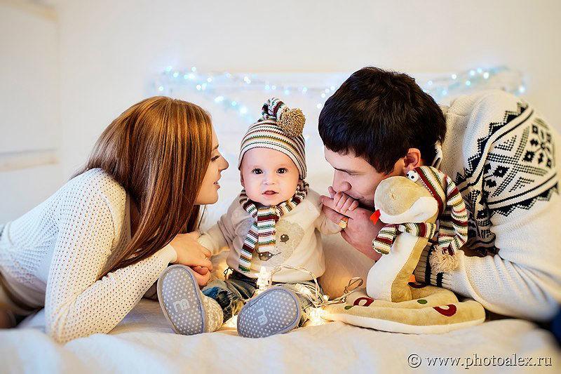 семейный новогодний портрет (2)