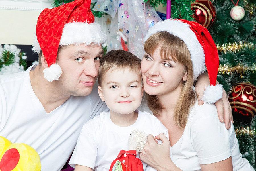 семейный новогодний портрет (5)