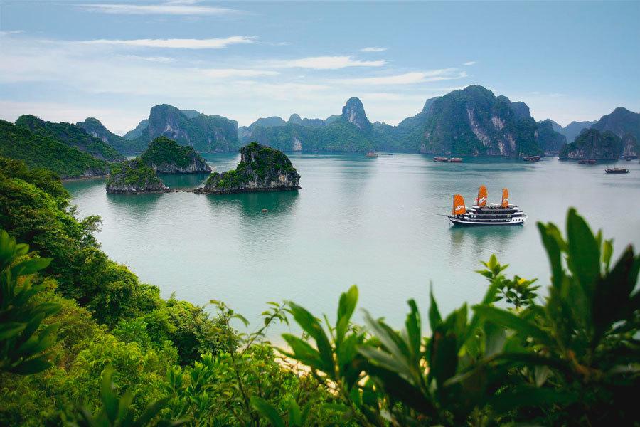 Halong бухта, Вьетнам