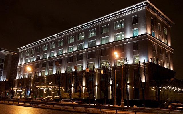 Архитектурное освещение Бизнес-центра