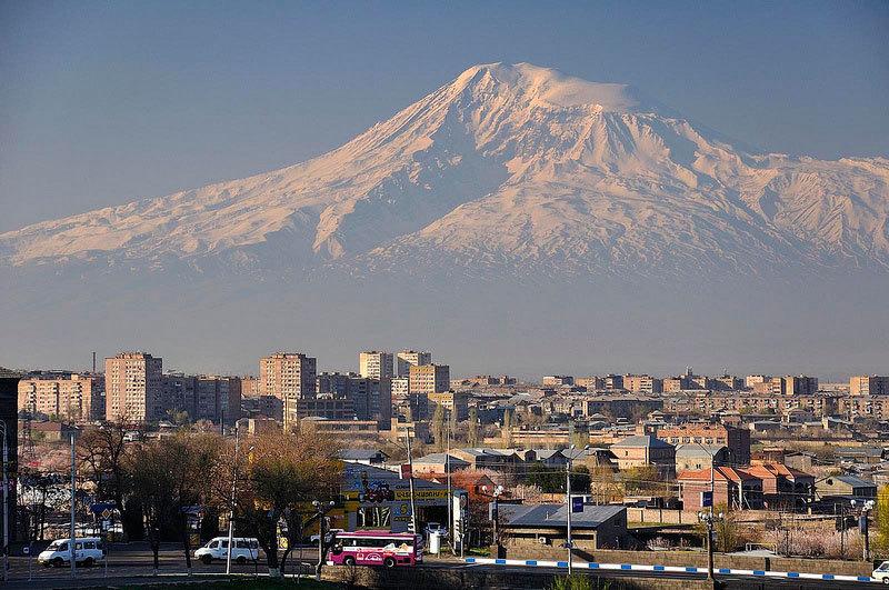 Ереван и Арарат