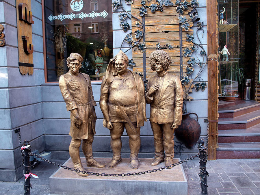 Ресторан Кавказская пленница в Ереване