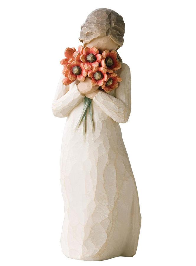 Willow Tree девочка с цветами