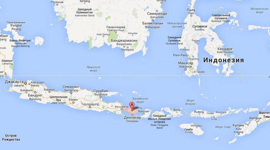 Бали в Индонезии.