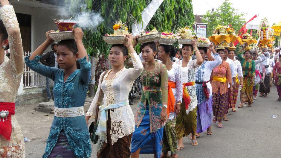 Женщина на Бали.
