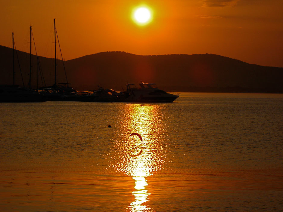 Закаты на Черном море.