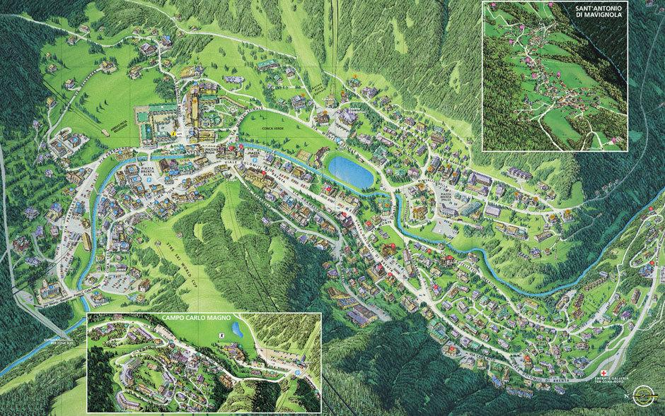 Карта поселка Мадонна ди помпильо