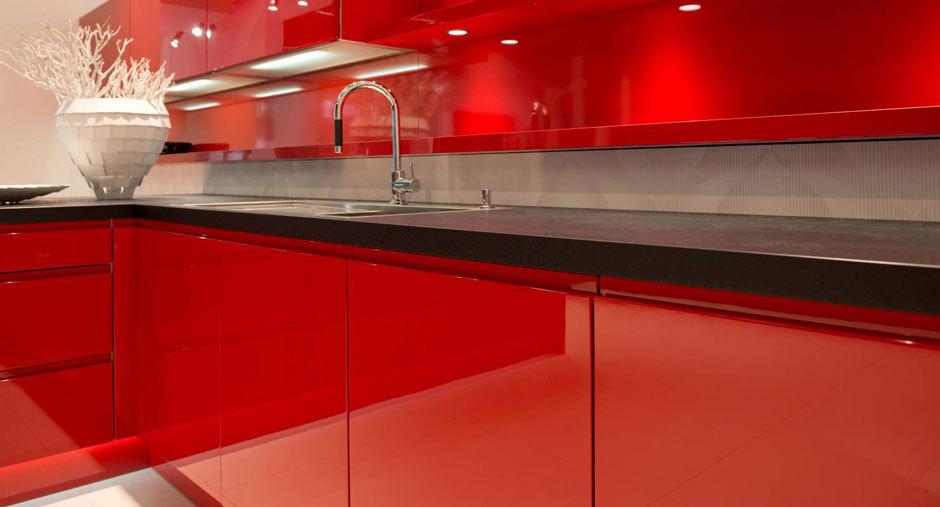 Красные кухни от Nolte Küchen (2)