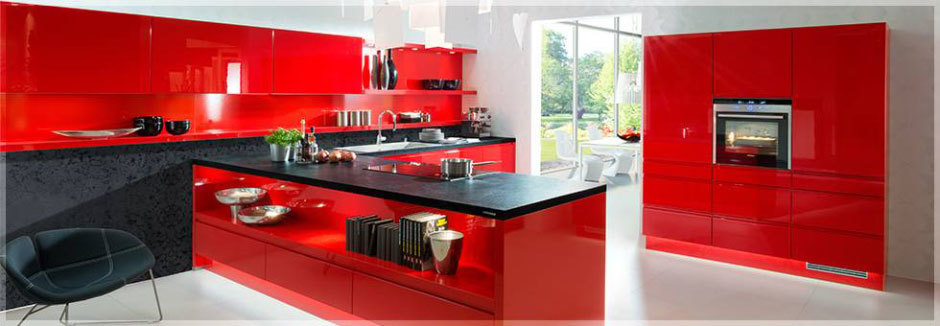 Красные кухни от Nolte Küchen (3)