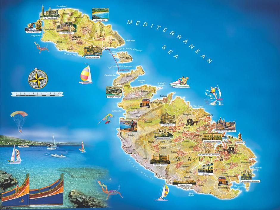 Мальтйские острова.