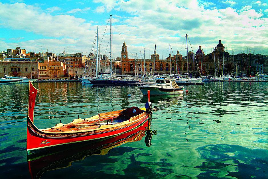 Парусник, Мальта.