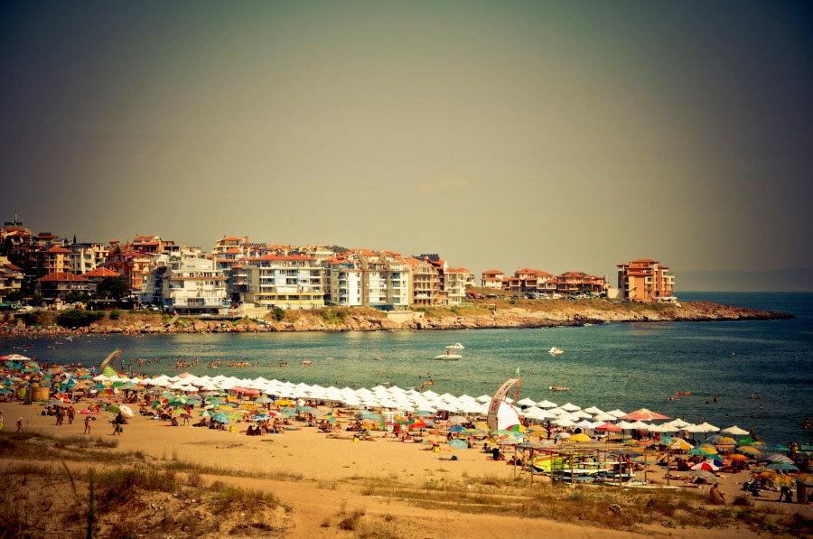 Пляжный отдых в Созополе.