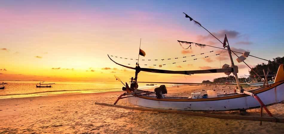 Рыбацкое судно, Бали.