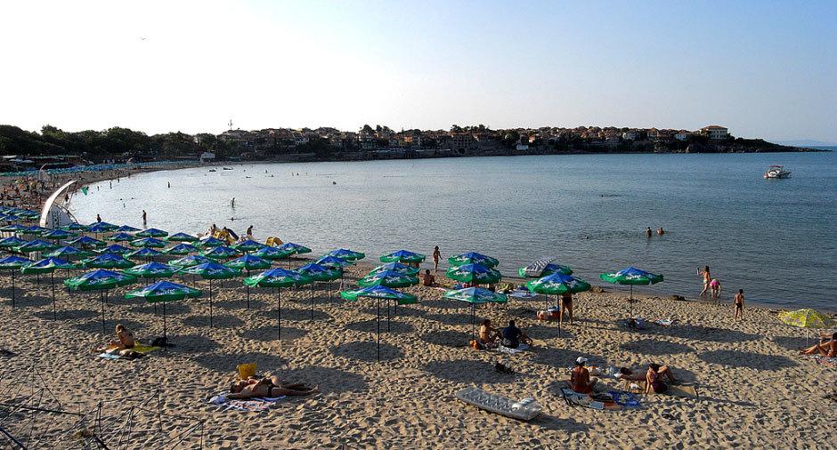 Созопольский пляж.