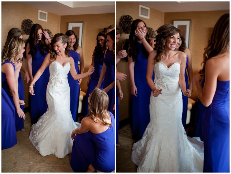 Rebekah Hoyt - подружки с невестой