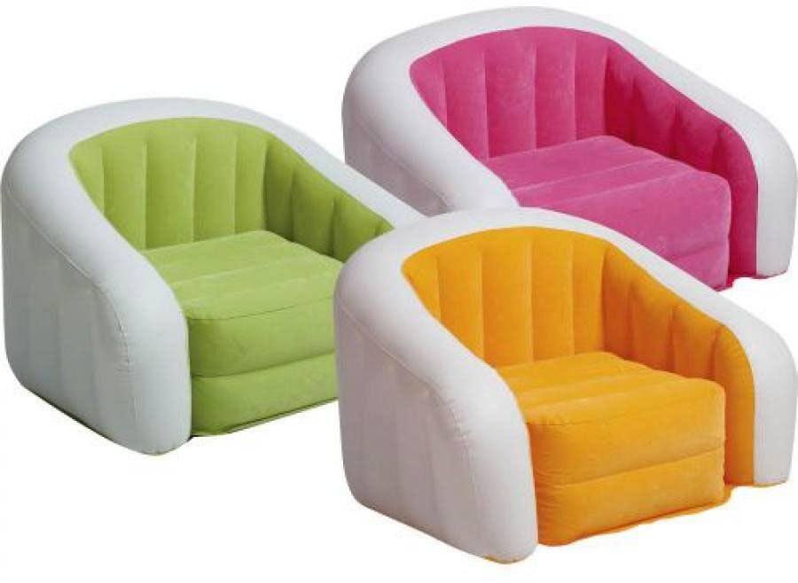 надувные кресла для детей и взрослых (2)