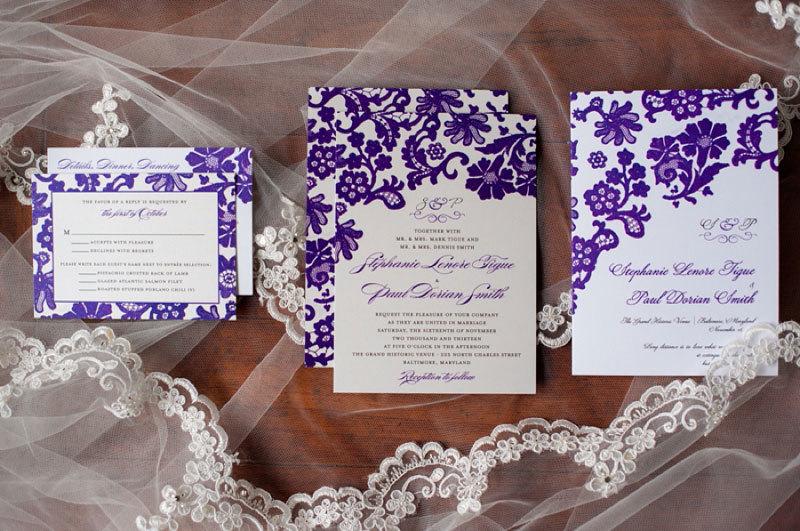 свадебная канцелярия в едином стиле