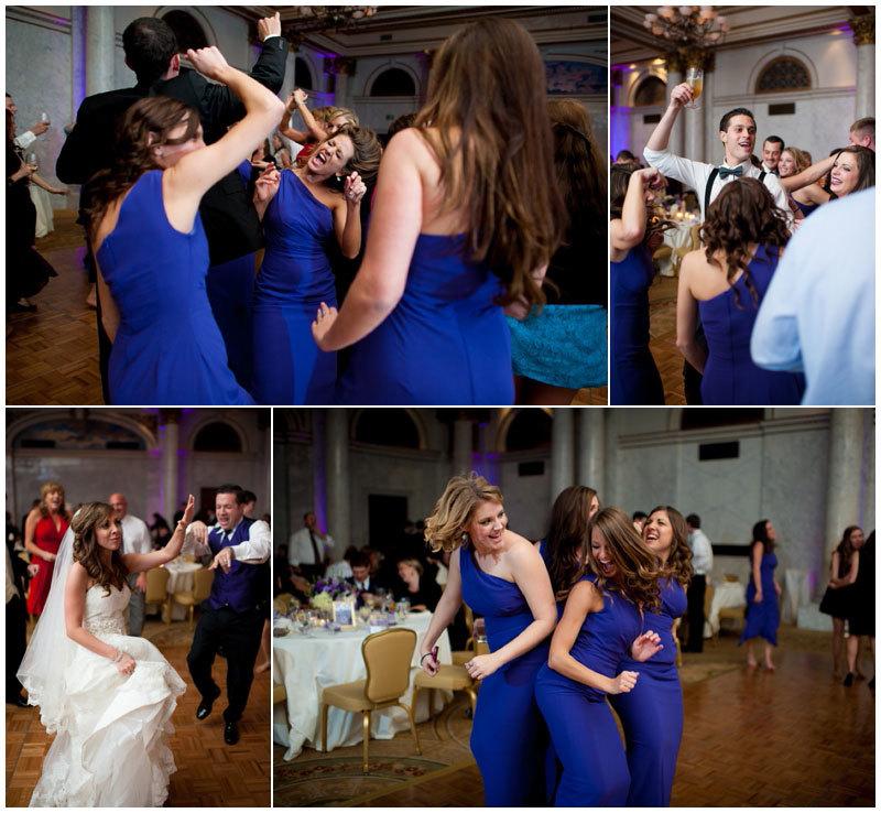 свадьба в сапфировом цвете