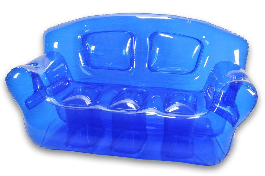 яркая прозрачная надувная мебель (1)