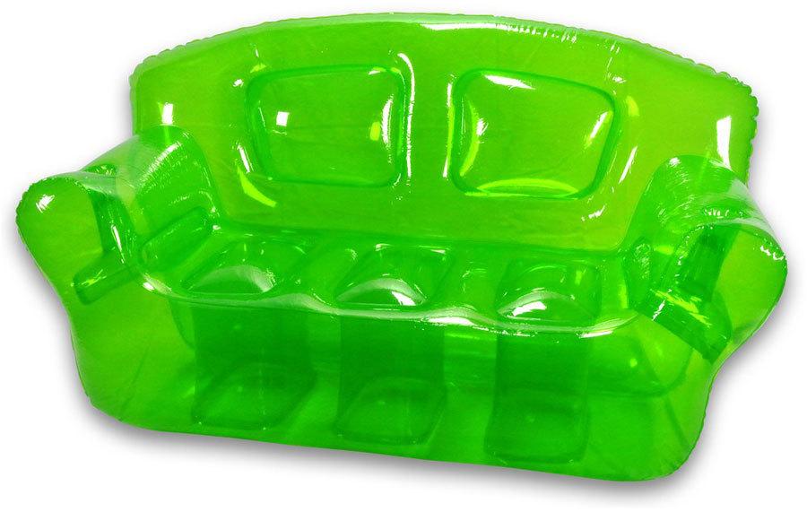 яркая прозрачная надувная мебель (2)