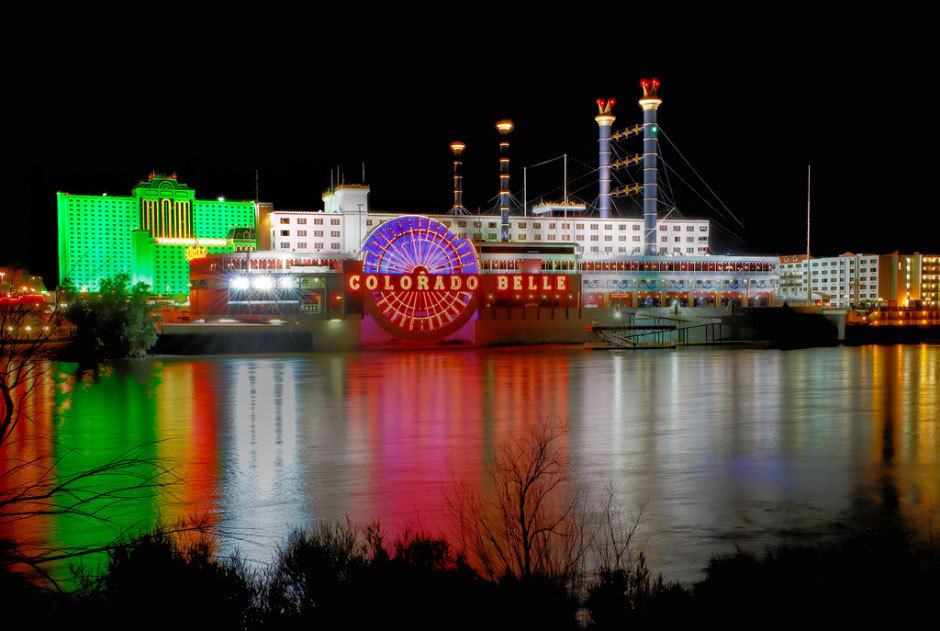 Casino-lights-in-Laughlin