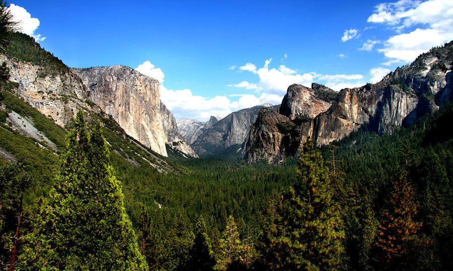 Величие парка Йосемити