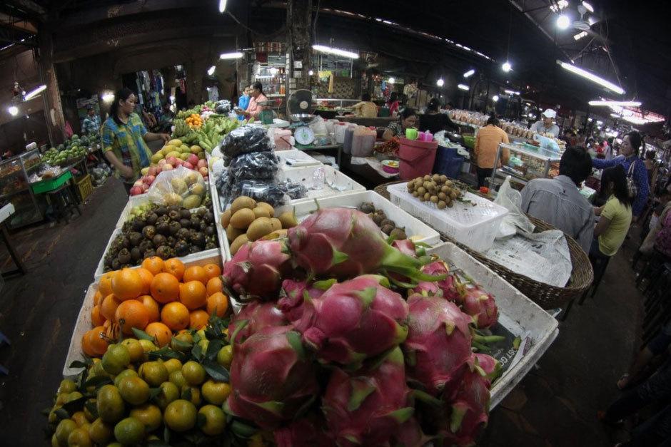 Камбождийский закрытый рынок