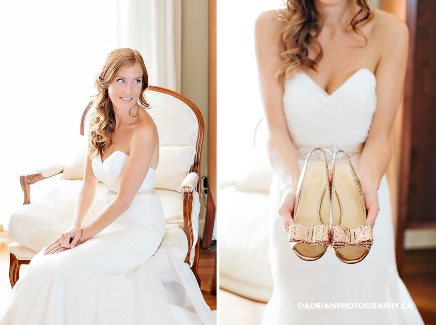 красивая канадская невеста