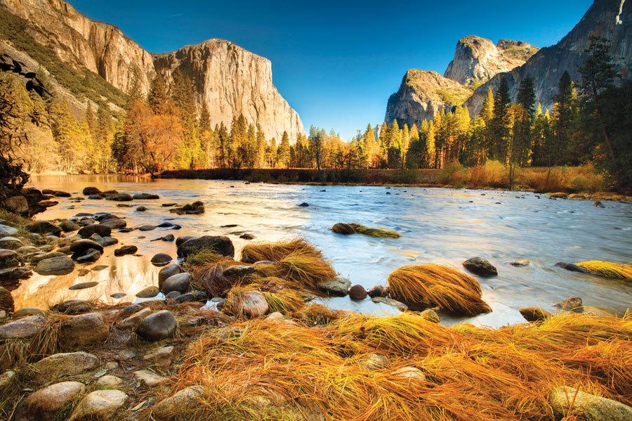 осень в Yosemite