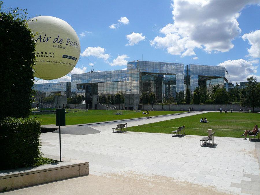 парк в Париже, 15 округ (3)