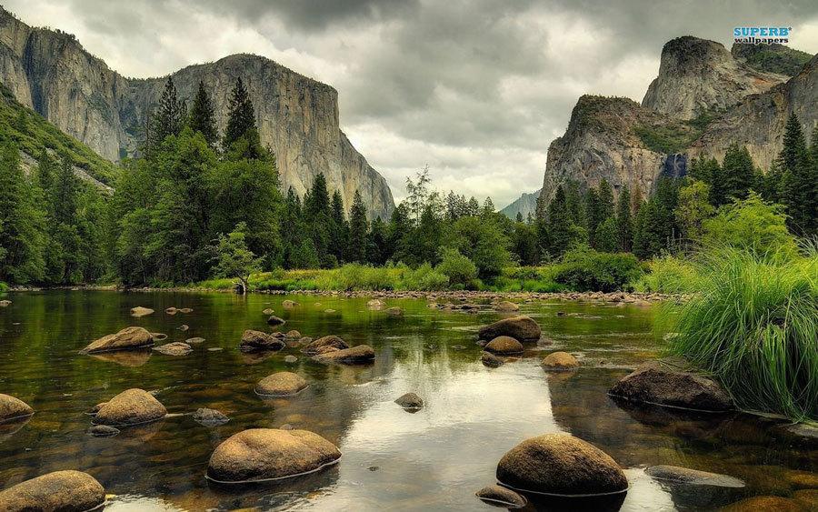 природа парка Yosemite  (2)