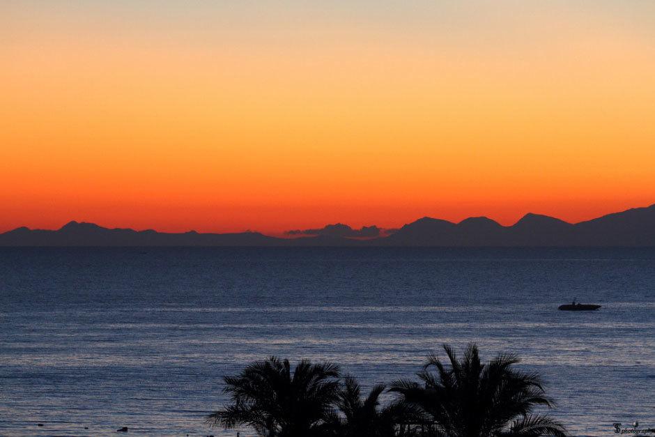 Закат над турецким Сиде