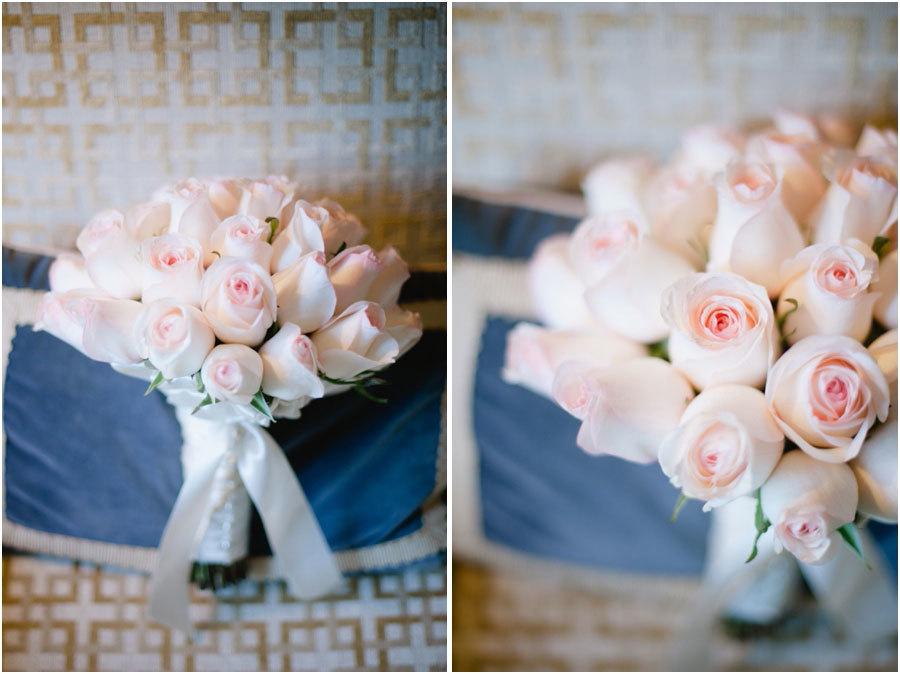 Обалденные цветы на свадьбу. Нежные розы. Свадьба в Beverly Wilshire Hotel.