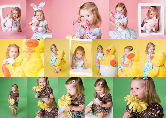 весенняя детская фотосессия