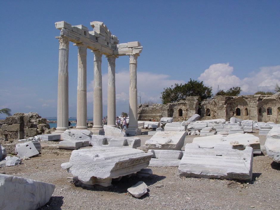греко-римский город в Турции