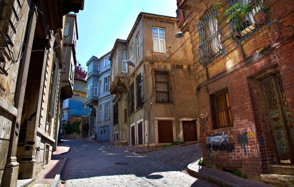 древние улочки в Стамбуле