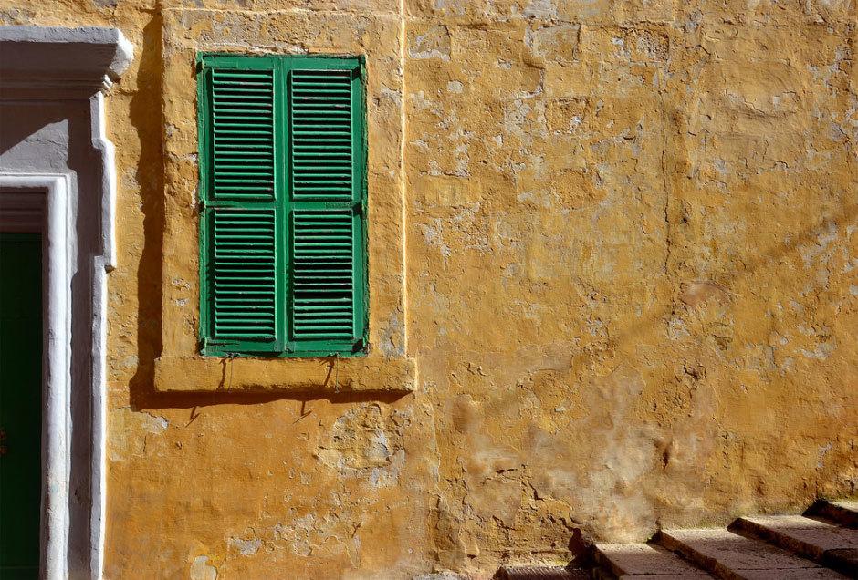 зеленое окно, улица Мальты