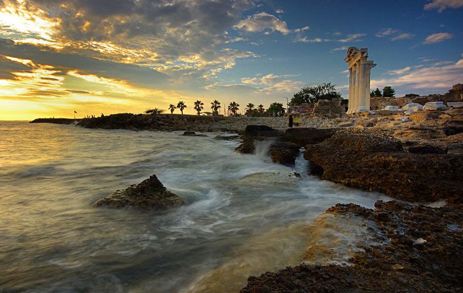 побережье города Сиде