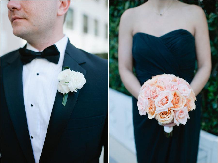 подружка невесты и друг жениха