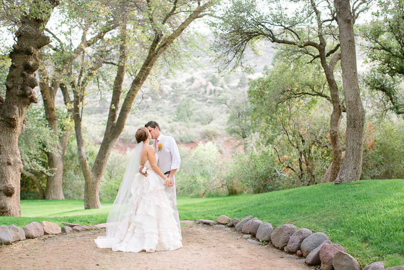свадьба на ранчо в Аризоне